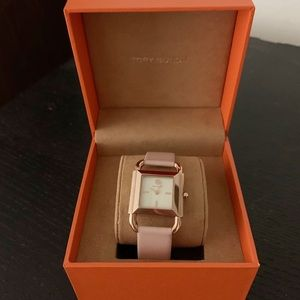 Tory Burch rose gold watch